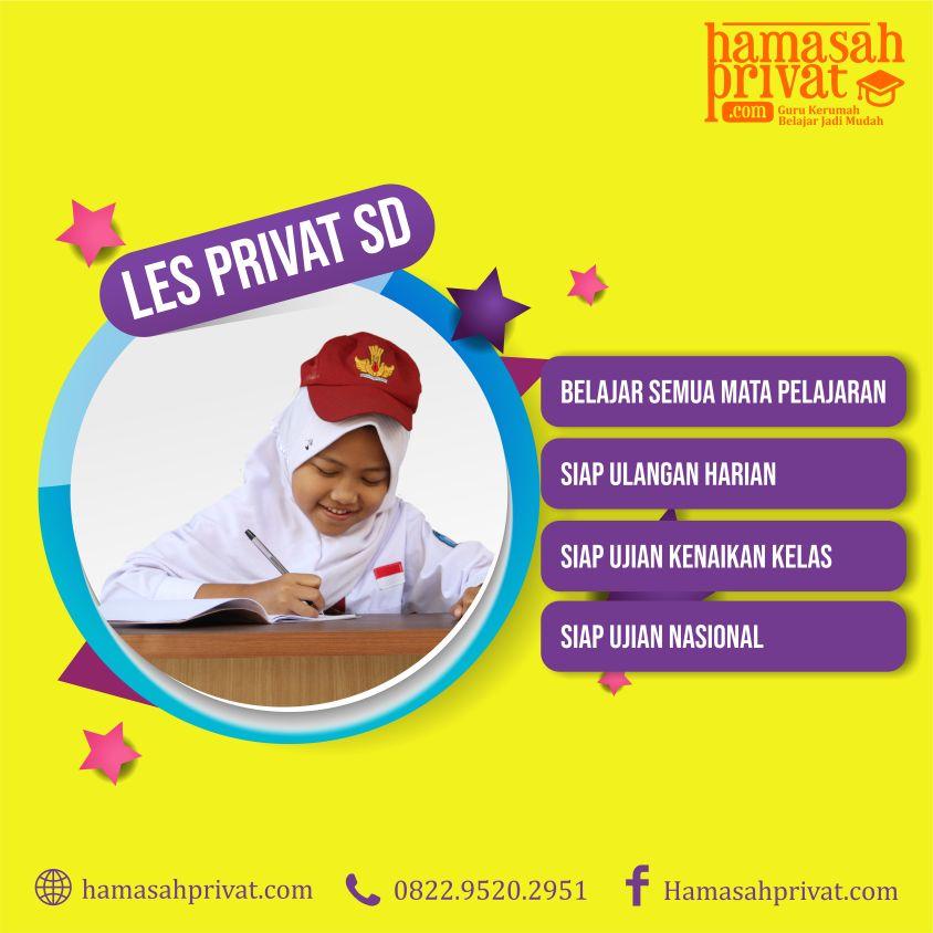 Les Privat SD Bandung dan Cimahi